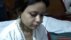 Shy New Young Indian Bhabhi Fucked In English Style